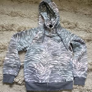 TNA SIZE SMALL ZIP-UP HOODIE